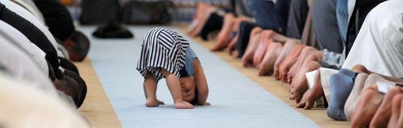 رعاية الأطفال في الصلاة