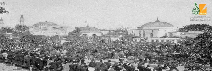 الدولة العثمانية في مرضها الأخير