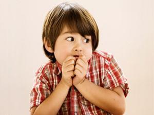 عرق الأطفال عند الخوف دليل على هدوء شخصيتهم