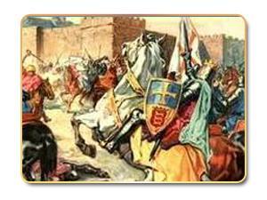 المشهد الصليبي في عهد المنصور ابن أبي عامر