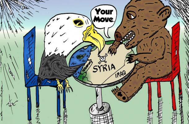 America & Russia Use Syria